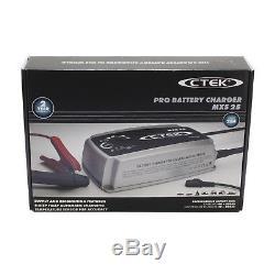 CTEK MXS 25 Batterieladegerät 12V max. 25 A // 40-500 Ah Blei-Säure Batterien