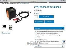 CTEK PRO60 12v Battery Charger Rrp £1200
