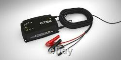 CTEK PRO 25SE 25A 12V Lead Acid and Lithium Battery Charger and Power Supply