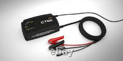 CTEK PRO 25S 25A 12V Lead Acid and Lithium Battery Charger and Power Supply