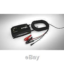 CTEK Pro25SE, 25A 12V Battery Charger, Lithium Capable, 6m Cables & Wall Bracket