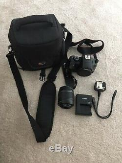 Canon EOS 1100D Camera With Battery, Charger 18-55mm Lens And Lowe Pro Bag