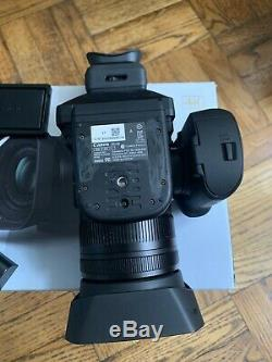 Canon XC10 Camcorder + 4 LP-E6 Batteries, Charger and original box/cables