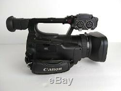 Canon XF100 HD Pro Camcorder With charger and 2 batteries