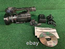 Canon XF105 High Definition Pro Camcorder with Battery Charger/Adapter Read
