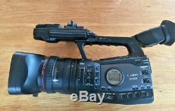 Canon XF-305 Camera + Batteries & Charger low hours