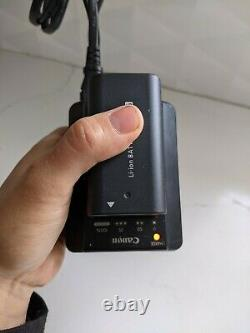 Canon XH A1 Camcorder, batteries, charger, remote, mini DVs