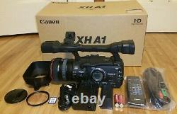 Canon XH A1 High Definition HD Mini DV HDV Camcorder with 20x Optical Zoom Lens