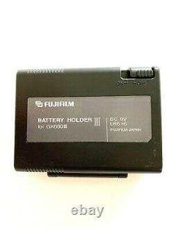 DHL NEAR MINT FUJI FUJIFILM Battery Holder III For GX680 III Pro From JAPAN