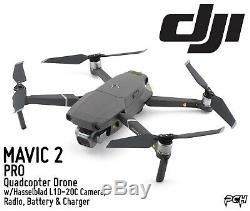 DJI MAVIC 2 PRO Quadcopter Drone withHasselblad L1D-20C, Radio, Battery & Charger
