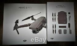 DJI Mavic 2 Pro with Fly More pack, 3 batteries, four way charger, VGC