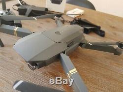 DJI Mavic Pro 4K Drone (2 Batteries, 4x propellors, Charger, Controller, Case)
