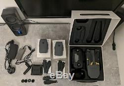 DJI Mavic Pro 4K Drone + 2x Spare Batteries, 3x Propellers, Car charger + More