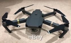 DJI Mavic Pro 4k Quadcopter Drone + Extra battery + Car Charger