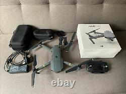 DJI Mavic Pro 4k Quadcopter Drone With Original Box, Battery, Charger + Case