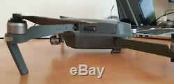 DJI Mavic Pro 4k Quadcopter Drone with 4 batteries, spare props, multi charger