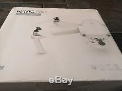 DJI Mavic Pro Alpine White Combo without the drone. Just RC 2 batteries, charger