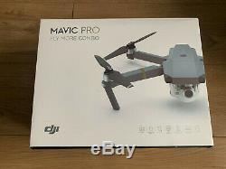 DJI Mavic Pro Fly More Combo Drone with 3 batteries, smart charger and remote