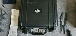 DJI Mavic Pro Quadcopter Drone. 2 x Batteries. Car charger. Hard Carry Case