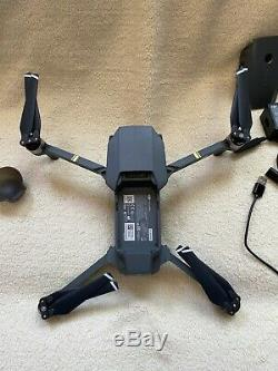 DJI Mavic Pro Quadcopter with Remote Controller Grey, Three Batteries, charger
