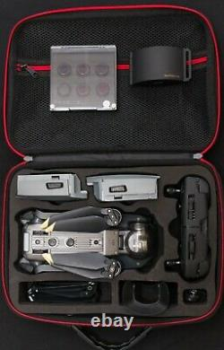 DJI Mavic Pro fly more combo(3 Extra batteries, ND/PL filters, car/multi chargers)