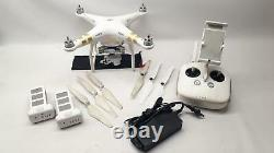 DJI Phantom 3 Pro, with 2 Batteries, Controller, and Charger