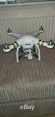 DJI Phantom 3 professional Drone ONLY. NO GIMBAL. BATTERY. CHARGER. Fully working