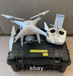 DJI Phantom 4 Pro Drone 5 Batteries, 2 Chargers, ND, Hard Case