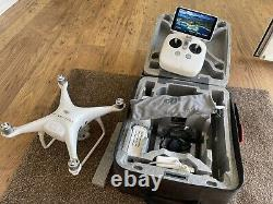 DJI Phantom 4 Pro Plus, 3 Batteries, Mains And Car Charger and more accessories