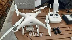 DJI Phantom 4 Pro, spare batteries, chargers, spare props, carrying rucksack
