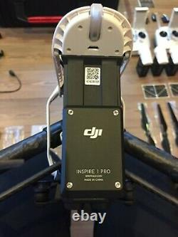 DJI inspire 1 v2.0 PRO Zenmuse X5 4 batteries 2 controllers multi-charger
