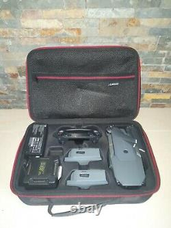 Dji mavic pro with case, 3 x batteries, charging hub, in car charger, sd card