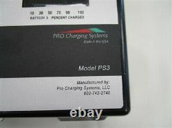 Dual Pro Professional Series Ps3 Battery Charger 3 Bank 3-30-14 Marine Boat