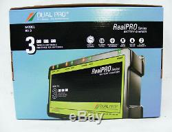 Dual Pro Recreational Series Battery Charger 3 Bank