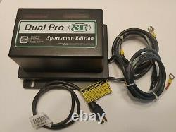 Dual Pro SE Sportsman Edition 2 Bank Charging System onboard battery charger