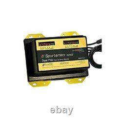 Dual Pro Sportsman Series Battery Charger 2 Bank 20 Amp