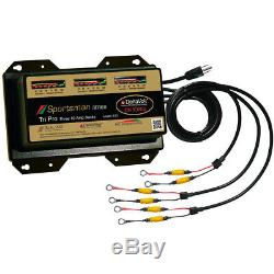 Dual Pro Sportsman Series Battery Charger 30A 3-10A-Banks 12V-36V