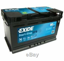 EXIDE Starter Battery Start-Stop EFB EL800
