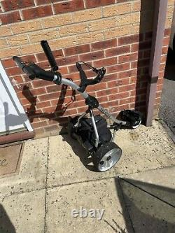 Electric Golf Trolley From Pro Rider, Inc. 36 Hole Battery & Charger & Bag