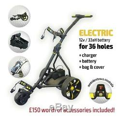Electric Golf Trolley From Pro Rider, Inc. Battery & Charger NEW MODEL
