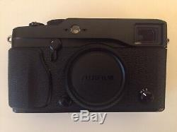 FUJIFILM X-Pro1 Mirrorless Digital Camera Sold With Battery, Charger & Box