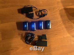 FreeFly Movi Pro Batteries (2) With (2) Chargers. 3 very good, 1 in fair cond