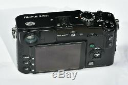 Fuji X-Pro1 16.3 Megapixel camera body + Battery & charger, Leather case, boxed