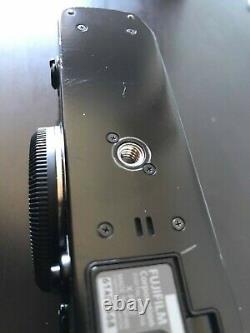 Fuji X-Pro 2 Black Body + 3 Batteries & 2 Chargers, No Lenses