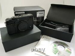 Fujifilm X-PRO1 + Battery, Charger, leads, instructions & matching numbered box