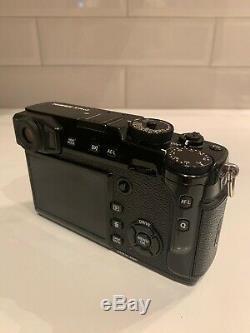 Fujifilm X-Pro2 Mirrorless Digital Camera 24.3MP Black + 2x Battery + Charger