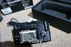 Fujifilm X pro1 camera body, boxed, in excellent condition with battery&charger