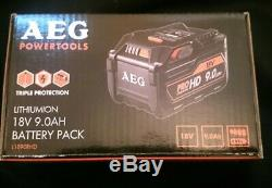 Genuine AEG L1890RHD 18V PRO HD 9.0Ah Li-ion Battery 9Ah (NEW)