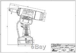 Gesipa Powerbird Pro Cordless Rivet Gun With 2 X 18v 2.1ah Battery & Charger