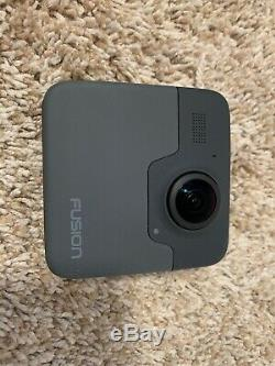 GoPro Fusion Camera Black, 64gb x 2MicroSD, 5 Batteries, GO PRO Dual Charger
